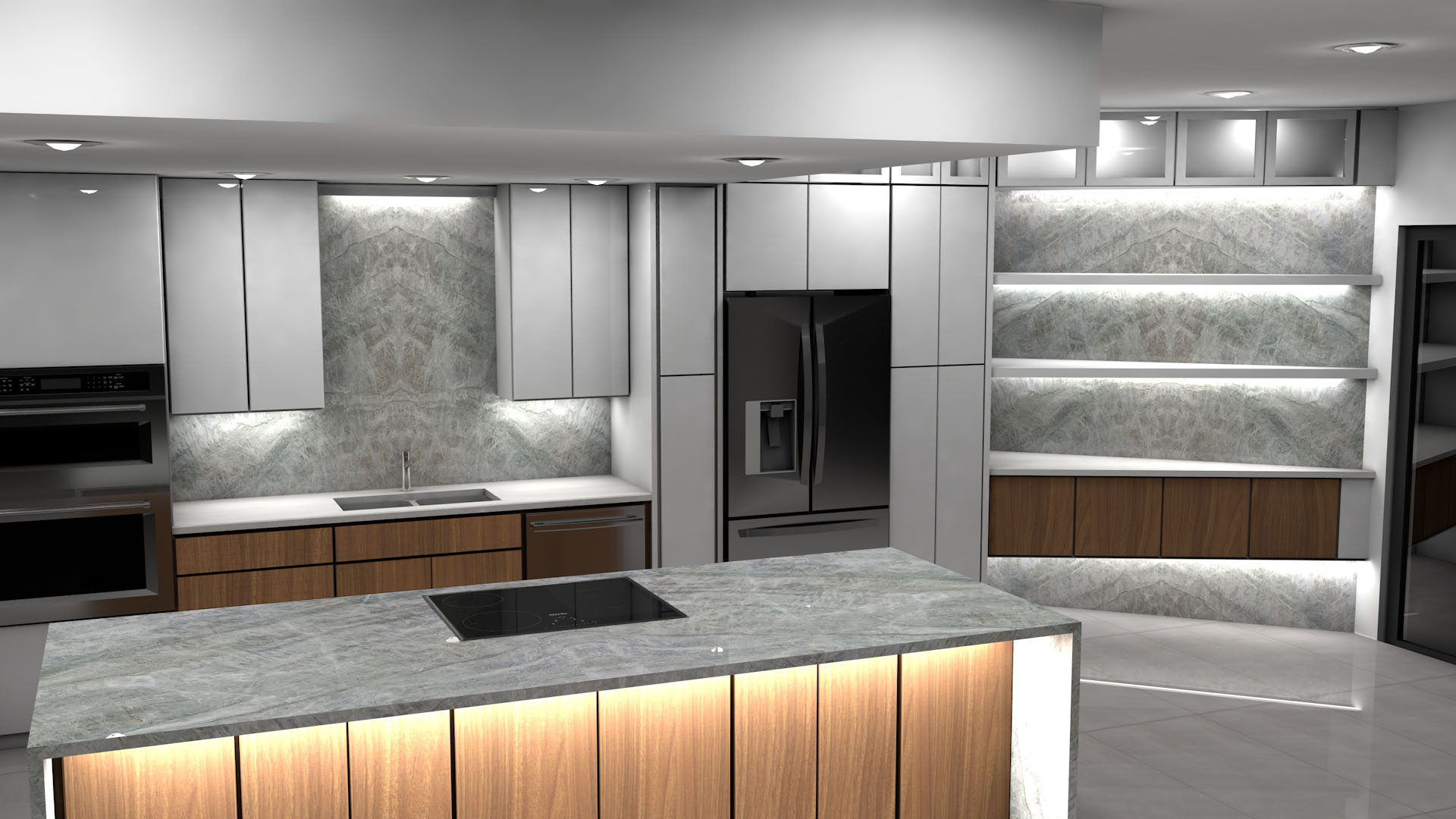 Transitional And Modern Kitchen Designs By Max Granite Lake Worth Fl